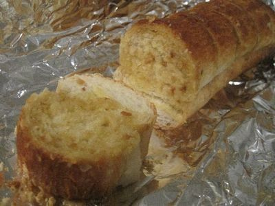 Similar to garlic bread and great served at a BBQ or with a bowl of soup.