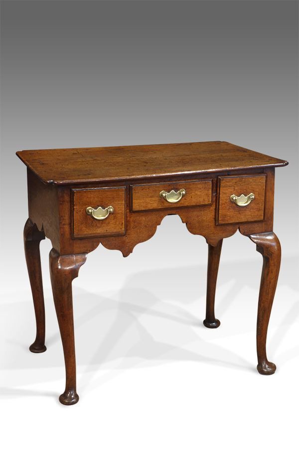 Georgian Oak Lowboy Antique Small Side Table Tables Uk Hall T Walnut - Antique Small Oak Side Table With Drawer