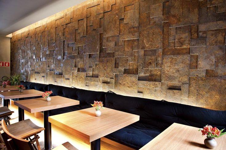 Revestimento Castelatto Oxyden Restaurante Japon 234 S