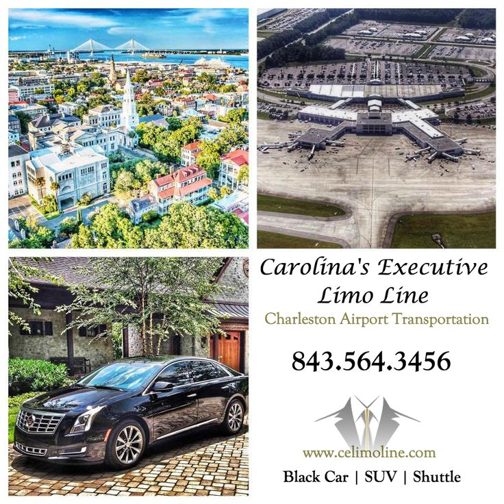 Charleston International Airport (CHS) Black Car Service from Carolina's Executive Limo Line. 843.564.3456   http://www.celimoline.com/charleston-airport-car-service