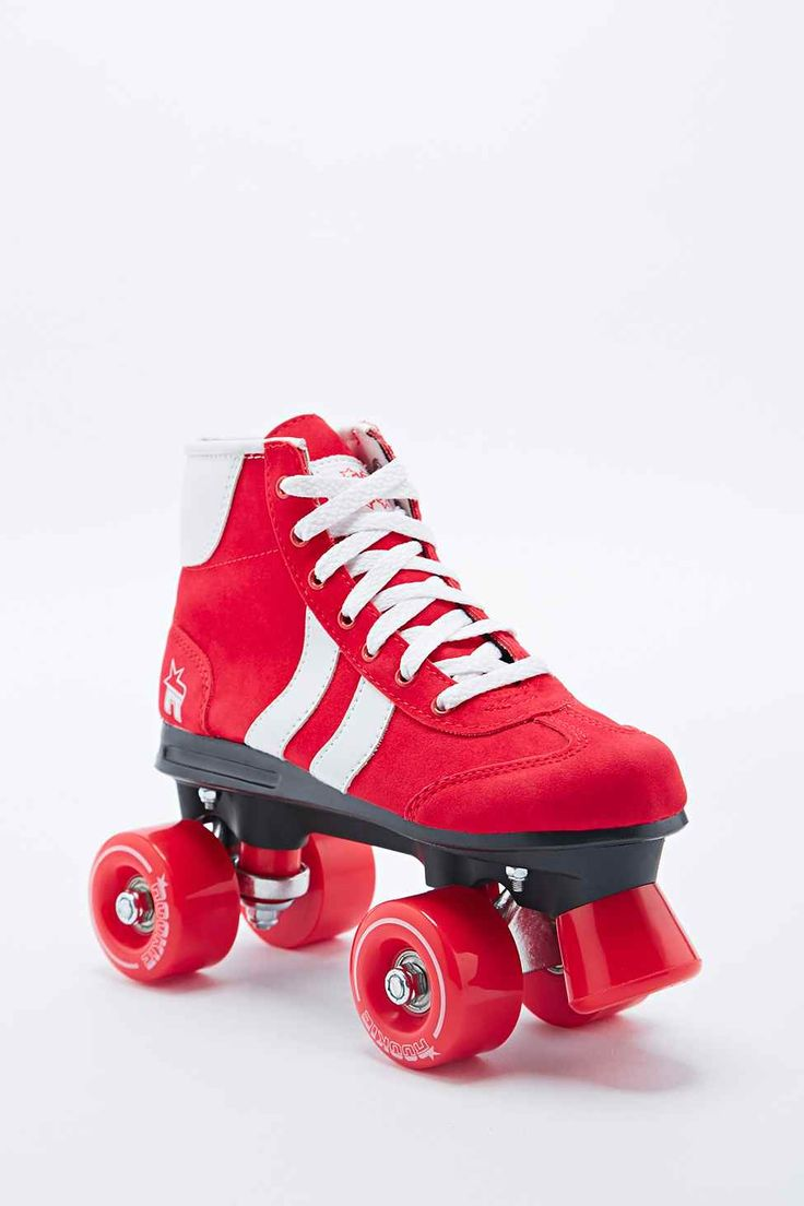 Roller skates in the 70s - Retro Rollerskates In Red And White Urban Outfitters