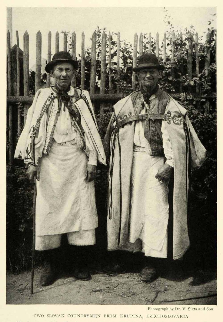 Slovak folk men's clothing