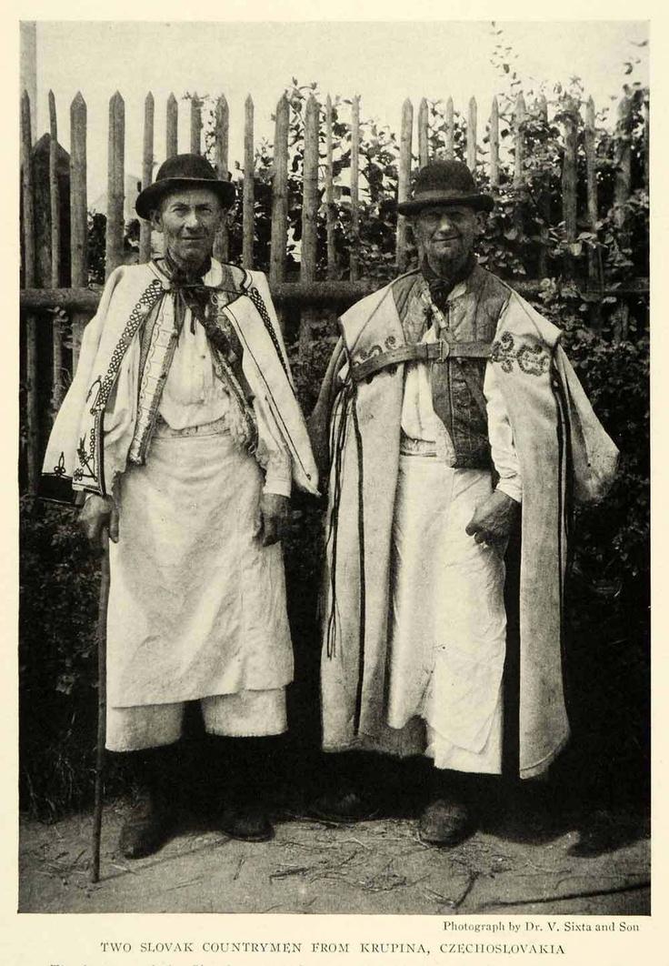 Slovak folk men's clothing