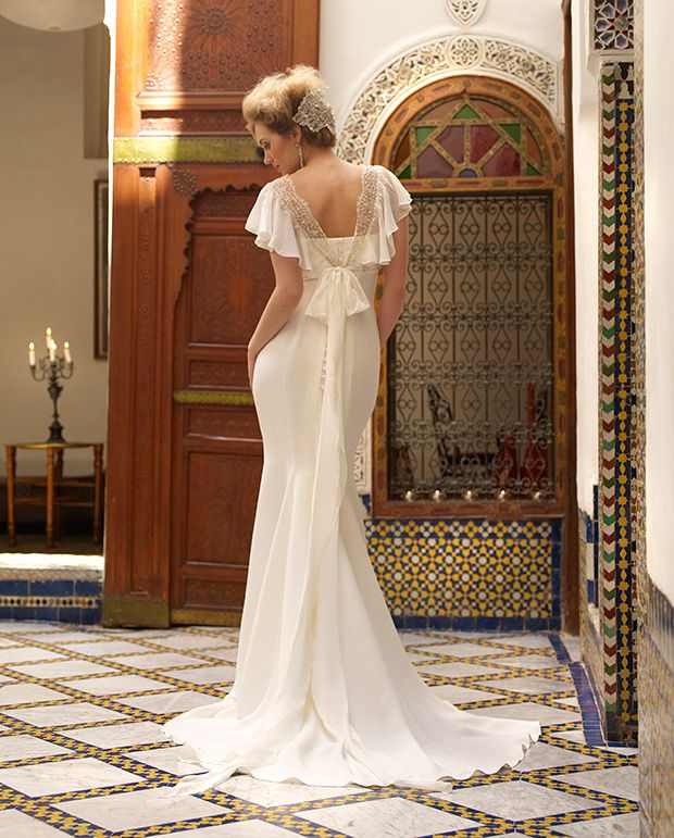 Stephanie Allin wedding gown is available exclusively in Ireland from Myrtle Ivory, Dublin 2 call 01-6753519 for appt.