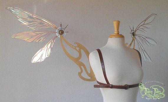Beautiful Steampunk wings https://www.etsy.com/listing/162458957/large-steampunk-fairy-wings