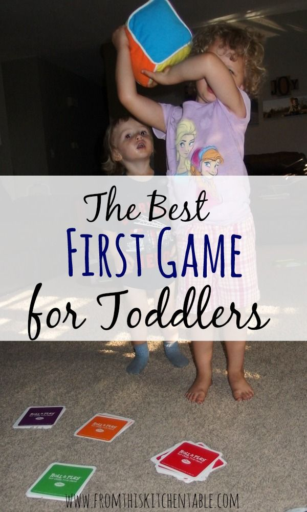 The Best First Game for Toddlers | My kids love this game and no reading is needed.