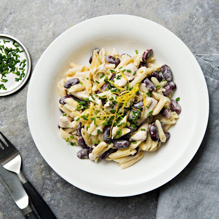 Sitruunainen kanakastike | K-ruoka #pasta