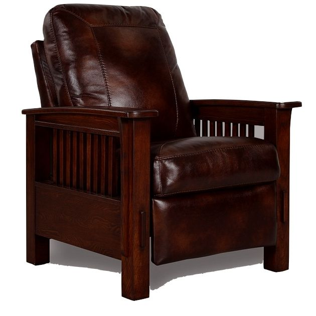 Mission Leather Recliner Mission Craftsman Morris Leather Recliner Mission Style Furniture Pinterest Mission Furniture Chairs And Leather