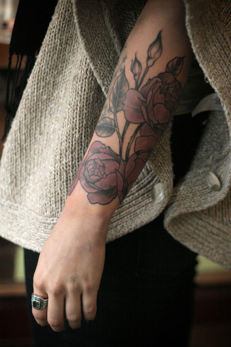 arm flowers