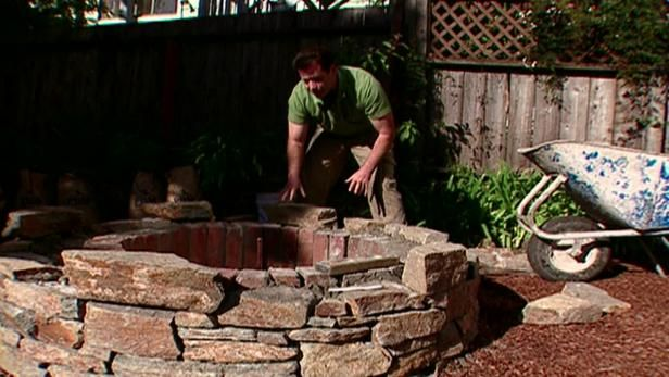 Best 25 Rustic Fire Pits Ideas On Pinterest Fire Pit
