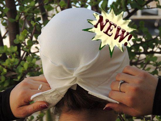 White Volumizer & Anti Slip Headband-NEW-All by SaraAttaliDesign https://www.etsy.com/il-en/shop/SaraAttaliDesign