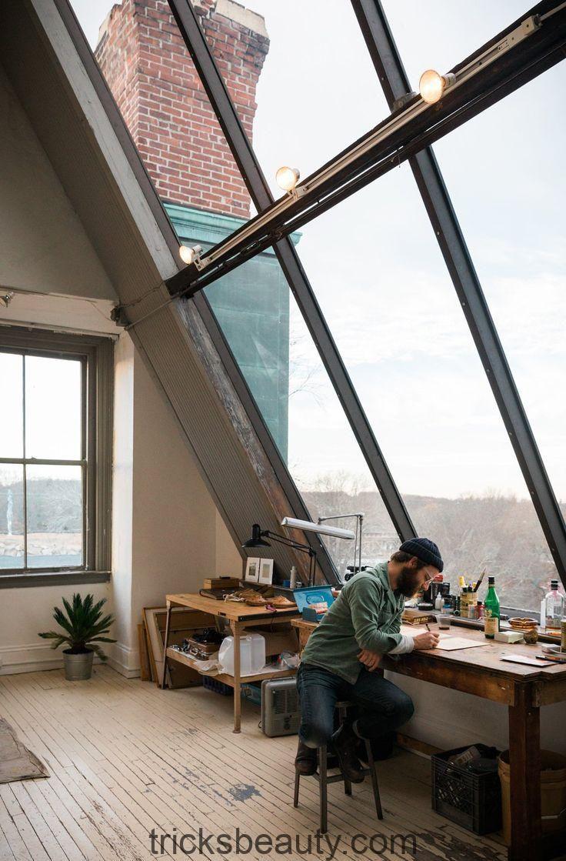 Die besten Bürofotos von diesem atemberaubenden Studio in Rhode Island…