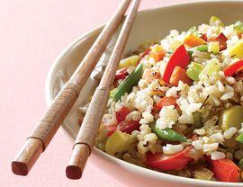 Ultimate Veggie Fried Rice | Vegetarian Times