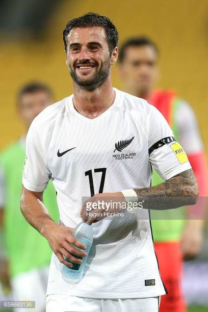 Thomas Doyle of New Zealand looks on after the 2018 FIFA World Cup Qualifier match between the New Zealand All Whites and Fiji at Westpac Stadium on...