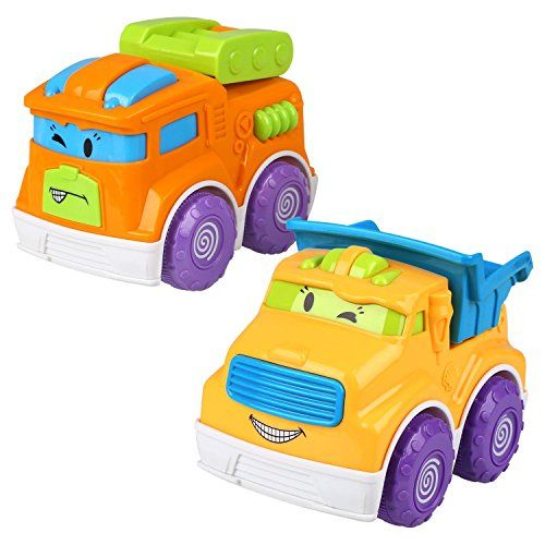 #Peradix #Pull Back #Car #Set #Push and Go #Car #Mini #Construction #Raced #Dump #Truck #Die #Cast #Vehicles #Car #Model #Pretend #Play #Toy #Preschool #Learning #Kit #Great #Gift for #Kids ★Pull Back #Car, made of super quality plastic, the #car toys are sturdy, durable, lightweight and very healthy for toddlers to #play with, very convenient and suitable for your #kids to hold. ★Funny #Mini #Construction #Vehicles #Set, the 2 pieces #play #vehicles #set are very realist