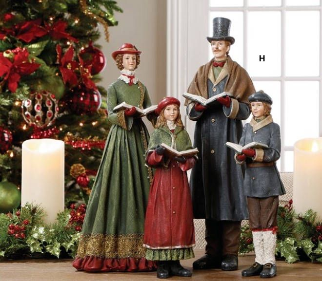 Christmas Carolers Singers Vintage Decorations By: Best 25+ Caroler Ideas On Pinterest