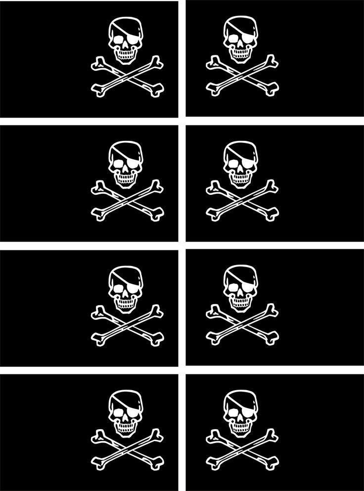 Pirate Flags Printable Printable Pirate Flags