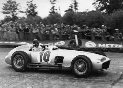 Fangio Grand Prix Mercedes to auction at Bonhams