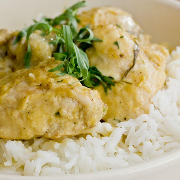 Recipe: Tarragon Chicken Fricassee