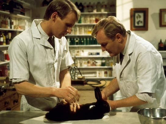 all creatures great and small stills   ... Davison and Robert Hardy in 'All Creatures Great and Small', 1977