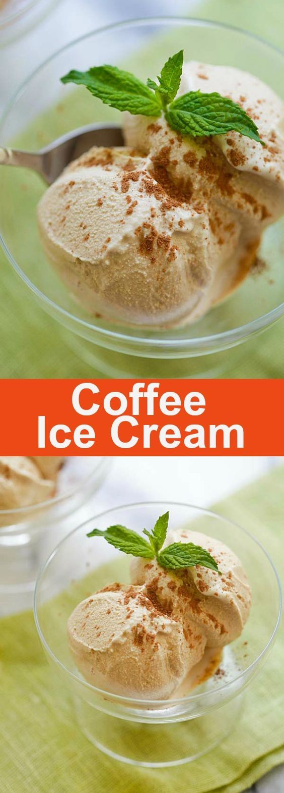 Coffee Ice Cream – Best type of coffee ice cream to make is the one with the coffee you are familiar with and enjoy drinking. This recipe will be in three parts: espresso, instant coffee, and coffee beans   rasamalaysia.com