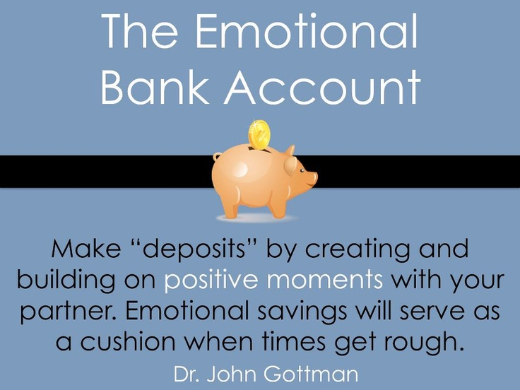 the relationship bank account book