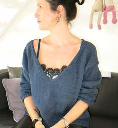 tuto d'un pull laine phildar simple, facile