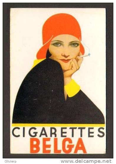 1931 : Netta Duchâteau, une Miss Univers belge servit de modèle aux cigarettes Belga