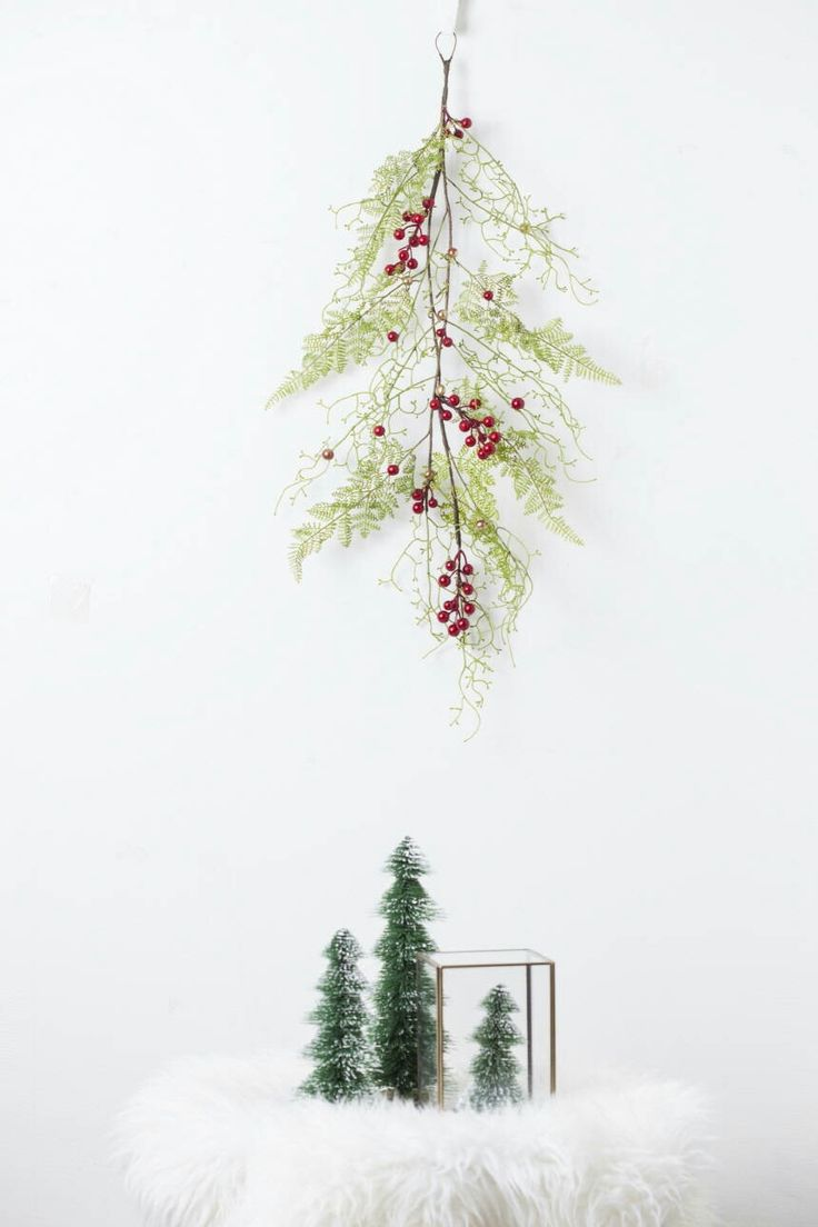 295 best rymd flowers images on pinterest bud cylinder vase and excited to share the latest addition to my etsy shop holiday garland with artificial reviewsmspy