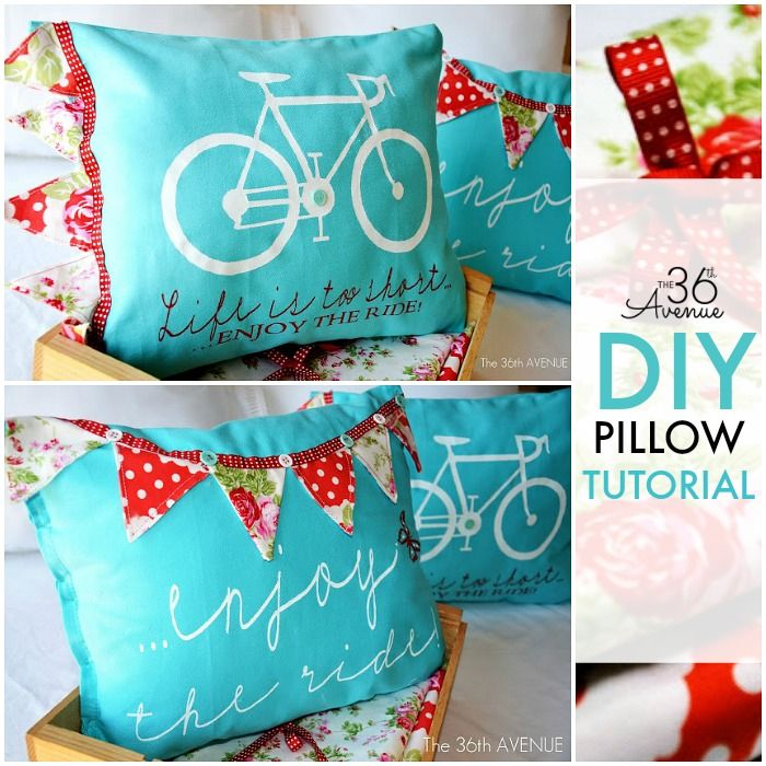 DIY Pillow Tutorial