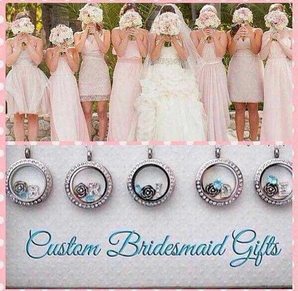 Custom Bridesmaid Jewelry from Origami Owl