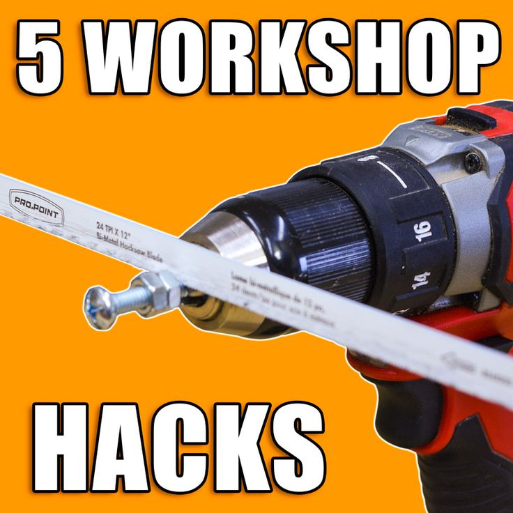 5 Quick Workshop Tips and Tricks!  #woodworking #lifehacks