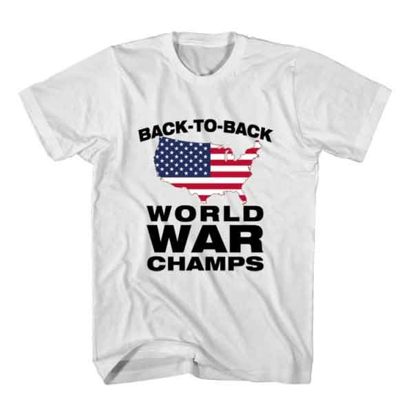 60f4571f9d9 savage T-Shirt Back To Back World War Champs from clotee.com tumblr t