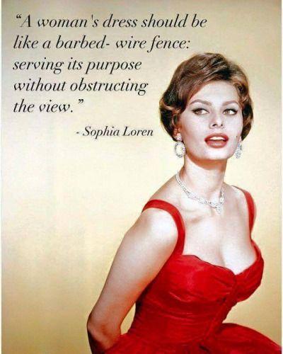 Best 25+ Sophia Loren Quotes Ideas On Pinterest