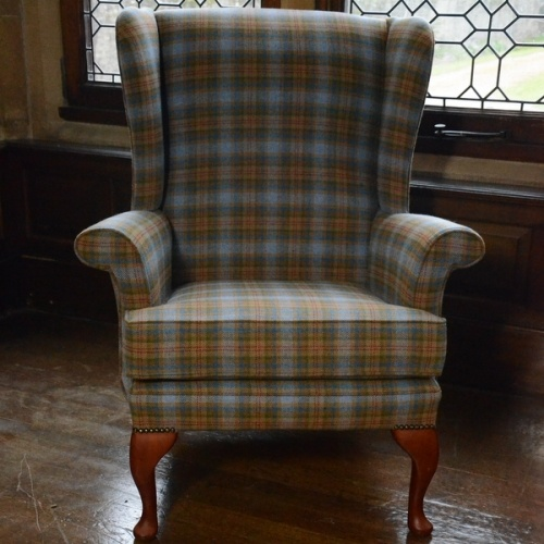 Oakham Tweed Chair the perfect fireside chair, just as home in a cosy  cottage or a lodge this is the type of chair that fits just about anywhere.