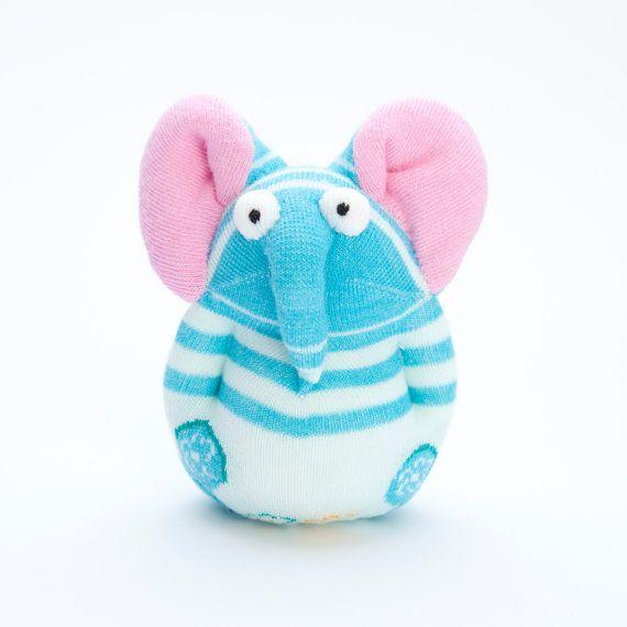 Слон Носок игрушки чучело куклы Небольшой по moniminiart