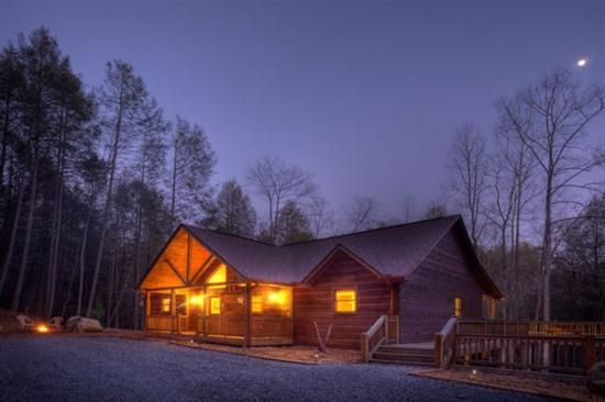 North Georgia Cabins - Ellijay Georgia cabin - Blue Sky Cabin Rentals
