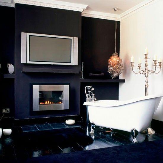 Die besten 25+ Dunkel lila badezimmer Ideen auf Pinterest Lila - design mobel eine dunkle gothik einrichtung