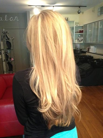 Gorgeous Natural Looking Multi Toned Blonde Highlights