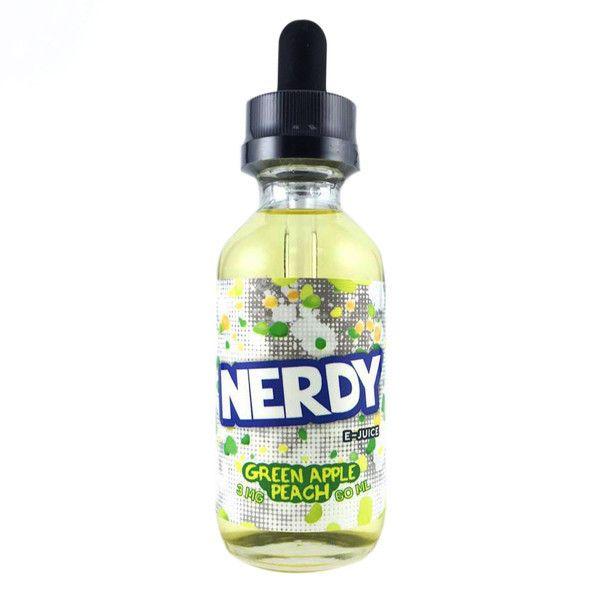 Green Apple Peach - Nerdy E Liquid #vape #vaping #eliquid