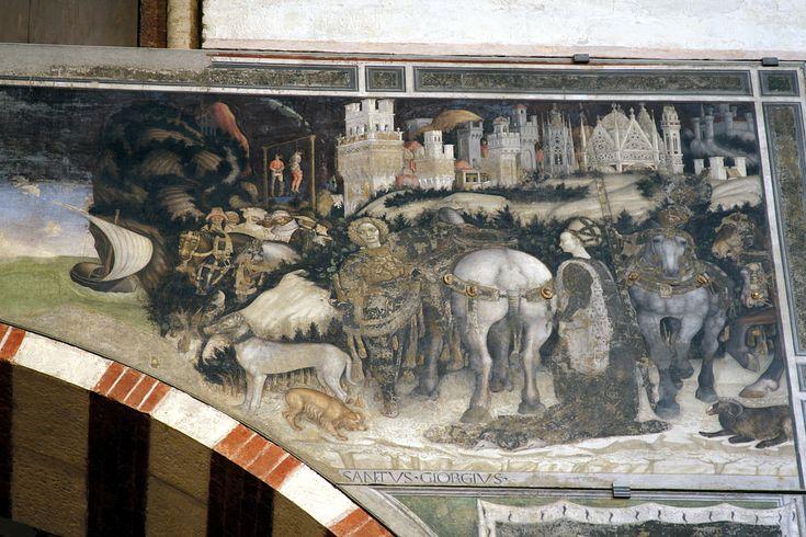 Pisanello : Saint George and the Princess (Sant'Anastasia (Verona)) 1395-1455 ピサネロ