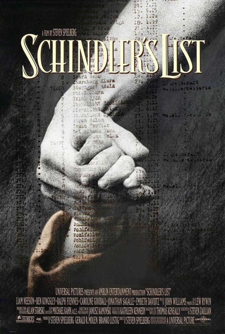 Director: Steven Spielberg | Reparto: Liam Neeson, Ben Kingsley, Ralph Fiennes, ... | Género: Drama | Sinopsis: Segunda Guerra Mundial (1939-1945). Oskar Schindler (Liam Neeson), un hombre de enorme astucia y talento para las relaciones públicas, organiza un ambicioso plan para ganarse la simpatía de los nazis. Después de la invasión de Polonia por los alemanes (1939), consigue, ...