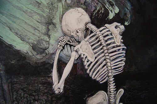 skeleton tumblr background backrounds pinterest