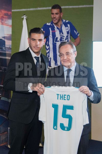 Theo Hernandez Signs with Real Madrid Football Club on July 11 2017