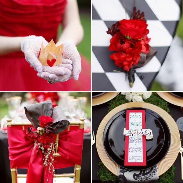 An Alice in Wonderland Wedding | Tradesy Talk