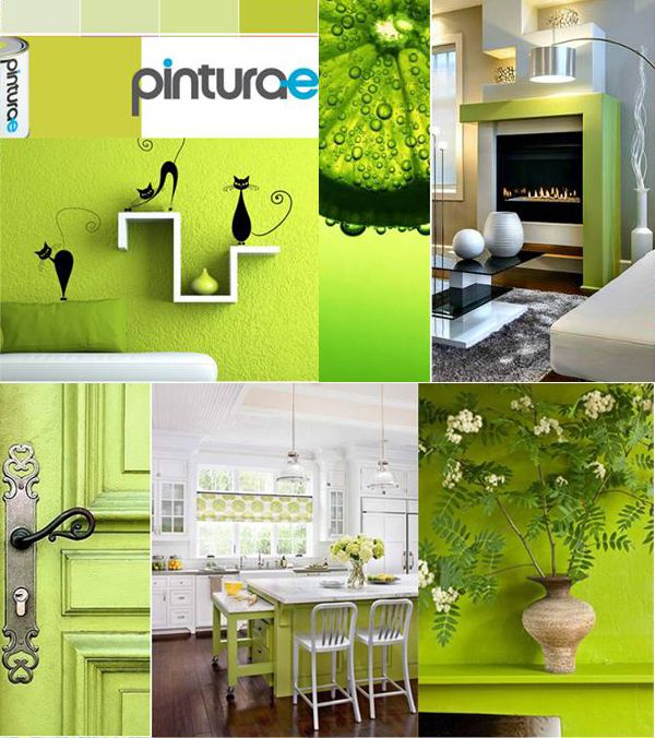 25 best ideas about pinturas verde lima en pinterest for Pintura azul pared
