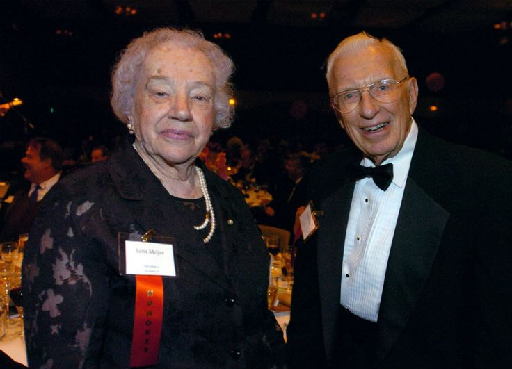 Fred and lena meijer celebrate at meijer gardens 10th