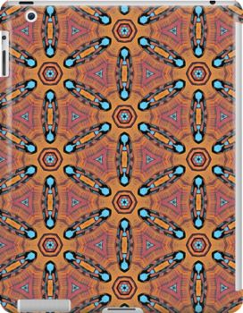 """""""Round Pattern"""" iPad Cases & Skins by bubbliciousart 