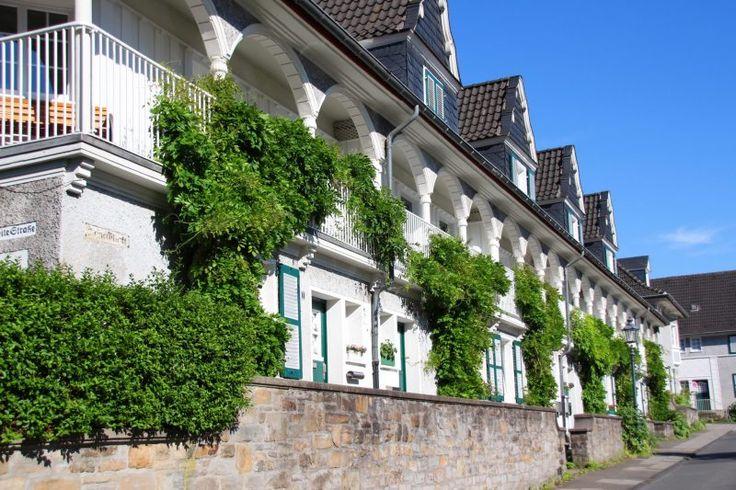 Häuser auf der Margarethenhöhe in Essen