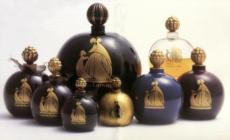 Séries de boules de parfums Lanvin, 1925 © Patrimoine Lanvin. #Lanvin125